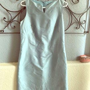 Shimmery blue Banana Republic dress size 10